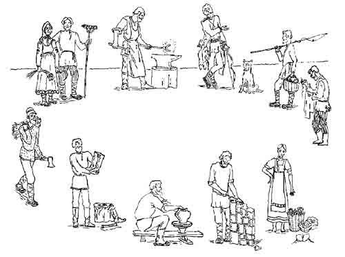 распределение труда на производстве